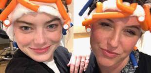Emma Stone und Rachel Goodwin