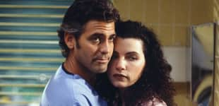 George Clooney und Julianna Margulies