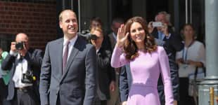 Herzogin Catherine und Prinz William bei ihrem Deutschlandbesuch in Hamburg