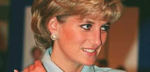 Prinzessin Diana vor ihrem Tod
