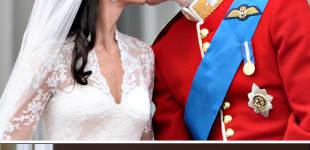 Lady Diana und Prinz Charles (1981) und Kate Middleton und Prinz William (2011)