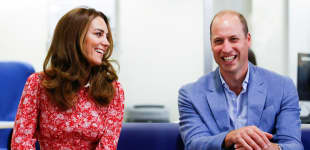 Prinz William Herzogin Kate London 2020 Bilder