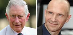 Prinz Charles und Ralph Fiennes