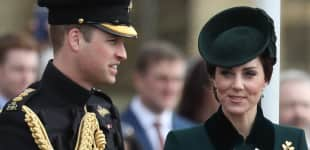 Prinz William und Kate Middleton St. Patrick's Day Parade