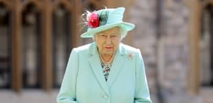 Königin Elisabeth II. in Windsor Castle am 17. Juli 2020: Captain Tom Moore wird zum Ritter geschlagen