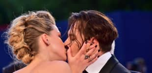 Amber Heard  Johnny Depp Internationales Film Festival Venedig 2015