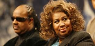 Stevie Wonder besucht schwerkranke Aretha Franklin