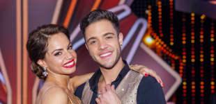 """Christina Luft und Luca Hänni bei """"Let's Dance"""" 2020"""
