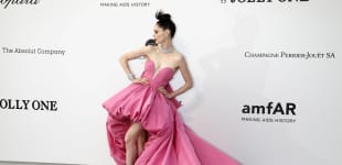 Coco Rocha Cannes Outfit