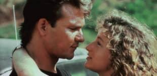 """Patrick Swayze und Jennifer Grey als """"Johnny"""" und """"Baby"""" in """"Dirty Dancing"""""""