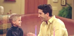 """""""Friends"""": David Schwimmer und Cole Sprouse"""