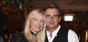 """Bergdoktor""-Hans Sigl und seine Frau Susanne Sigl"