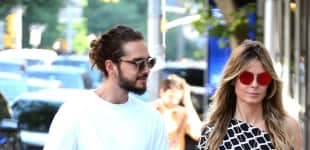 Tom Kaulitz und Heidi Klum in New York