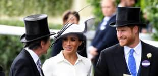 Herzogin Meghan und Prinz Harry in Ascot