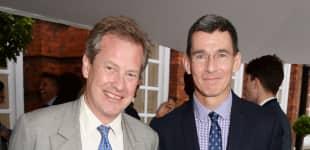 Lord Ivar Mountbatten und Chip Bergh sind das erste schwule Ehepaar der Royal Family