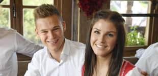 Joshua Kimmich und Freundin Lina Meyer sind seit drei Jahren ein Paar