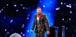 Justin Timberlake bei der Superbowl-Halftime-Show