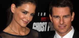 Katie Holmes und Tom Cruise im Dezember 2011