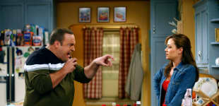 """Kevin James und Leah Remini in """"King of Queens"""""""