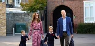 Prinz William, Herzogin Kate, Prinz George und Prinzessin Charlotte