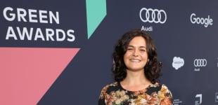 Ronja Forcher auf dem Greentech Festival 2020