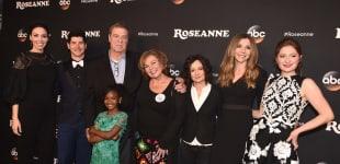 """Der """"Roseanne""""-Cast bei der Premiere der Serie"""