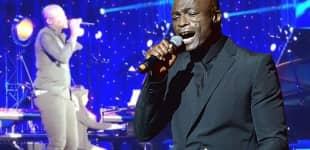 Seal und Tochter Lou performen gemeinsam in Los Angeles
