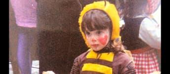 daniela katzenberger karneval 1990 biene maja