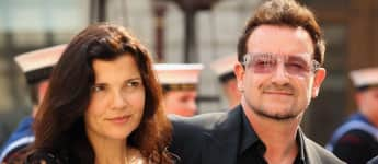 Bono und und seine Frau Ali Hewson bei dem Celebration of the Arts' Event 2012 in London, U2