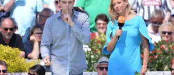 Lutz van der Horst, Andrea Kiewel, Fernsehgarten ZDF