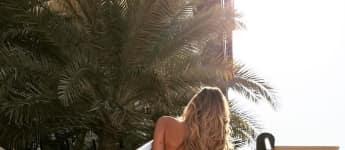Ann-Kathrin Brömmel zeigt ihr sexy Hinterteil