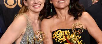"""Anna Chlumsky und Julia Louis-Dreyfus gewannen einen Emmy für """"Veep"""""""
