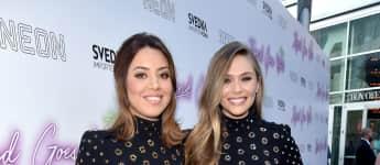 """Aubrey Plaza und Elizabeth Olsen bei der Filmpremiere zu """"Ingrid Goes West"""" 2017"""