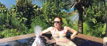 Barbara Meier super sexy im Bikini