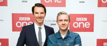 """Die """"Sherlock"""" Hauptcharaktere verstehen sich nur am Set- jetzt könnte die Serie bald vorbei sein Serien-Aus"""