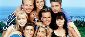 Beverly Hills 90210 Cast 1992