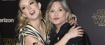 Billie Lourd Carrie Fisher Star Wars