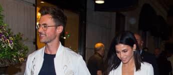 Stylist Brad Goreski händchenhaltend mit Jenna Dewan-Tatum in New York