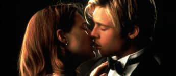 "Brad Pitt und Claire Forlani in ""Mett Joe Black"" 1998"