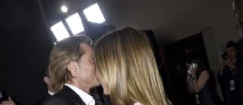 Brad Pitt und Jennifer Aniston; Brad Pitt und Jennifer Aniston 2020; Brad Pitt und Jennifer Aniston SAG Awards 2020