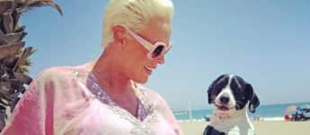 Brigitte Nielsen Hund