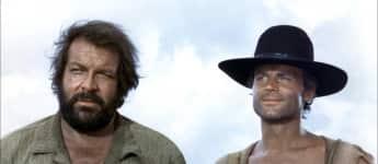 """Bud Spencer und Terence Hill in """"Vier Fäuste für ein Halleluja"""""""