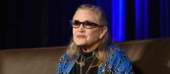 """Carrie Fisher feierte mit """"Star Wars - Das Erwachen der Macht"""" ihr Comeback"""