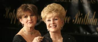 Carrie Fisher und Debbie Reynolds Beerdigung
