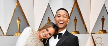 Chrissy Teigen und John Legend bei den Oscars