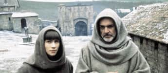 "Christian Slater und Sean Connery in ""Der Name der Rose"""