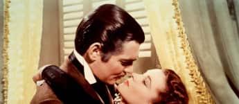 """Clark Gable und Vivien Leigh im Film """"Vom Winde verweht"""""""