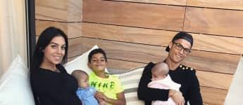 Cristiano Ronaldo Familie Georgina Rodriguez