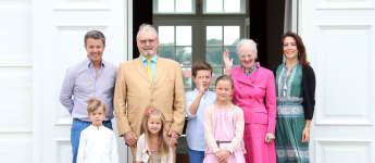 Dänische Royals Sommerfest