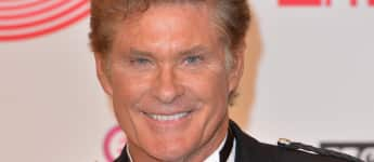 David Hasselhoff bei der Verleihung der MTV Europe Music Awards 2014